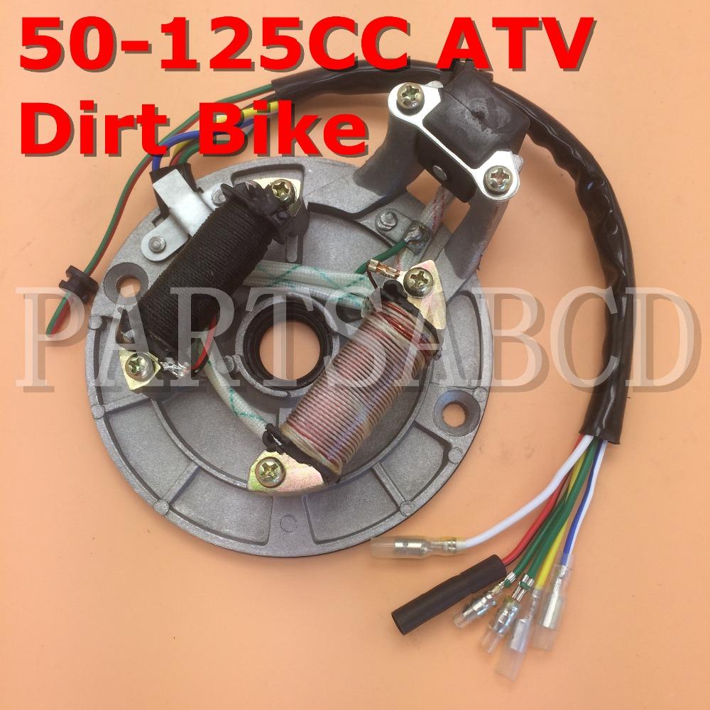 Stator Magneto Coil Honda XR50 CRF50 70cc 90cc 110cc 125cc Dirt Bike ATV Go Kart