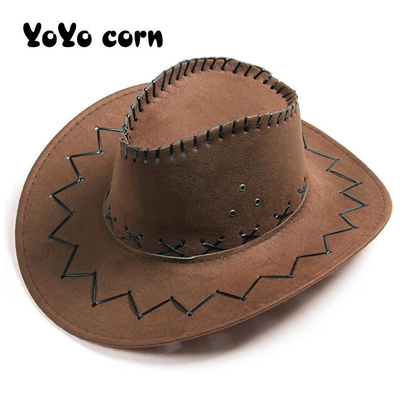 3 Colors 1//6 Western Cowboy Hat Retro Round Cap Top Hat Plastic Fit 12/'/' Figure