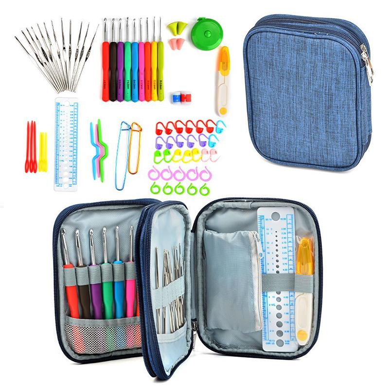 Crochet-Hooks-Set-72pcs-Mix-21-Sizes-Soft-Rubber-Handle-Yarn-Knitting-Needle-Set-With-Blue (1)