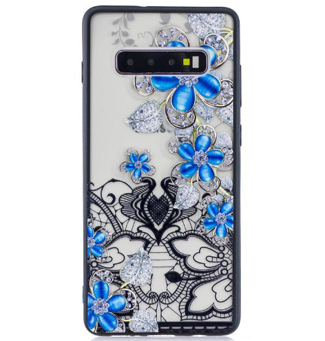 Flower Case Floral Paisley Henna Rose Cover For Iphone XS MAX XR X 8 7 6 Galaxy S10 S10e S9 Plus Note9