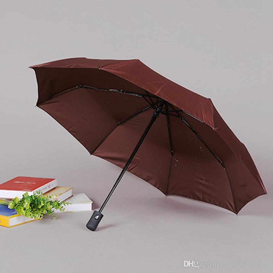 Custom Eiffel Tower Compact Travel Windproof Rainproof Foldable Umbrella