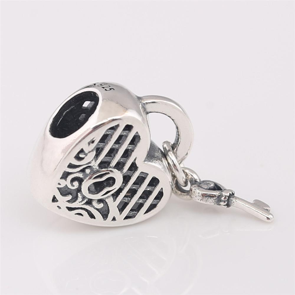 P-D-2051 (2)Love You Lock Charm