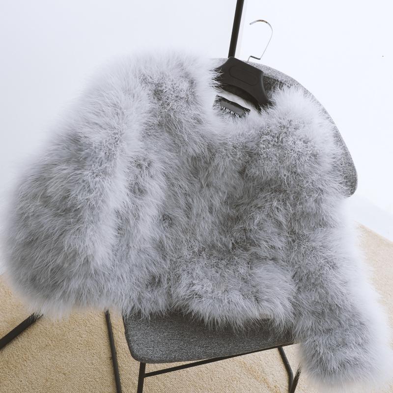 4 light grey fluffy-fur-fever-jacket-feather fur coats