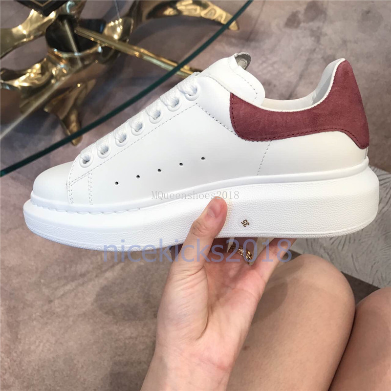 New Arrivals Colorful Reflection Mens Casual Shoes Platform Fashion Luxury Designer Women Sneakers Leather Vintage Trainer Shoes Espadrilles