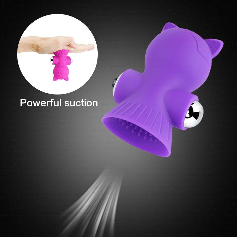 Vibrating Nipple Massager Breast Vibrator Female Masturbation Breast Enlarge Clitoral Stimulator Clit Sucker Sex Toys for Woman (5)