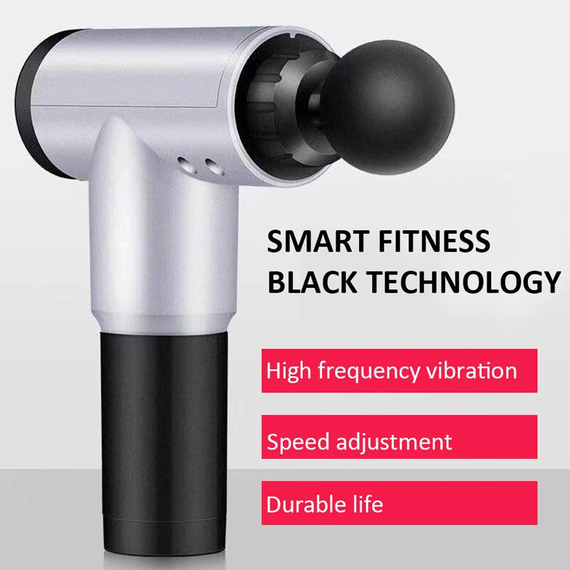 Electric Muscle Massage Gun Deep Muscle Fascia Tissue Massager Therapy Gun Exercising Muscle Pain Relief Body Shaping