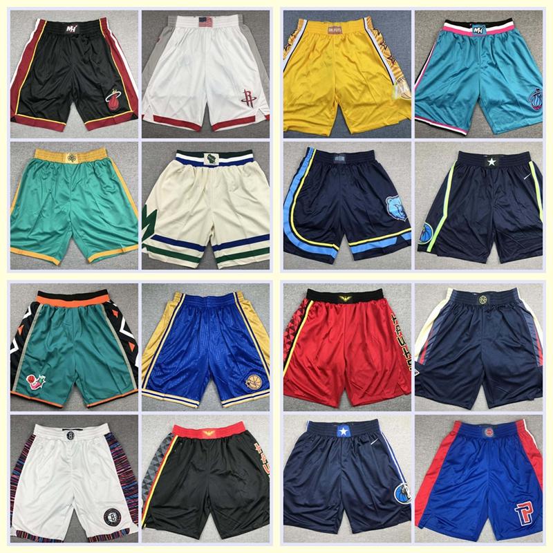 Spurs Black Basketball Mens Fashion Casual Classic Beach Shorts Quick-Dry Gym Adjustable Drawstring Shorts Yoga