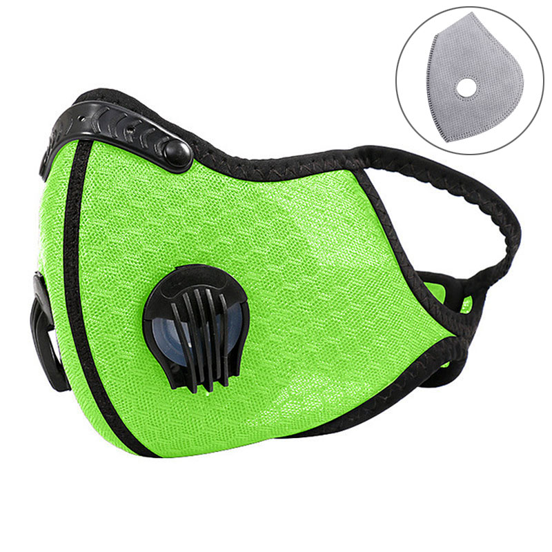 7 Styles Unisex Cycling Mask Outdoor Sports Face Mask Dustproof Windproof Breathable Washable Sports Mask With Filter