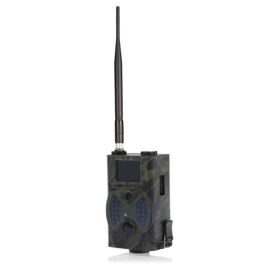 Hc300m 12m Digital Trail Support Caméra Télécommande 2g Mms Gprs Gsm 940nm Infrarouge Vision Nocturne Chasse Caméra T190705