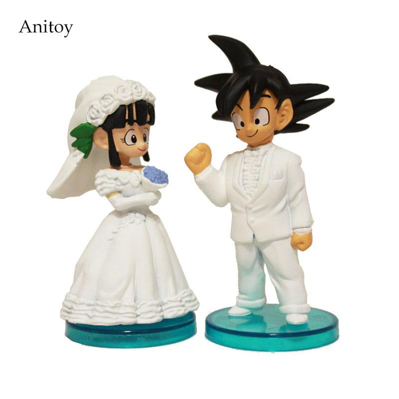 DRAGON BALL Goku /& Chichi Boda Wedding SET