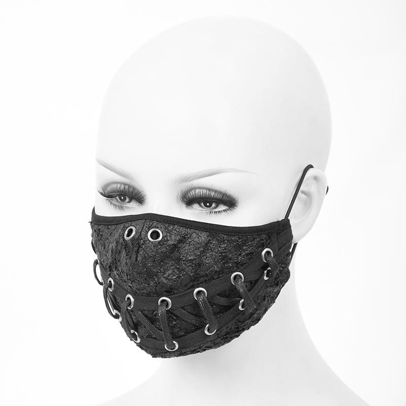 Giorno dei Morti Sposa maschera full face-Halloween Fancy Dress accessorio Adulti