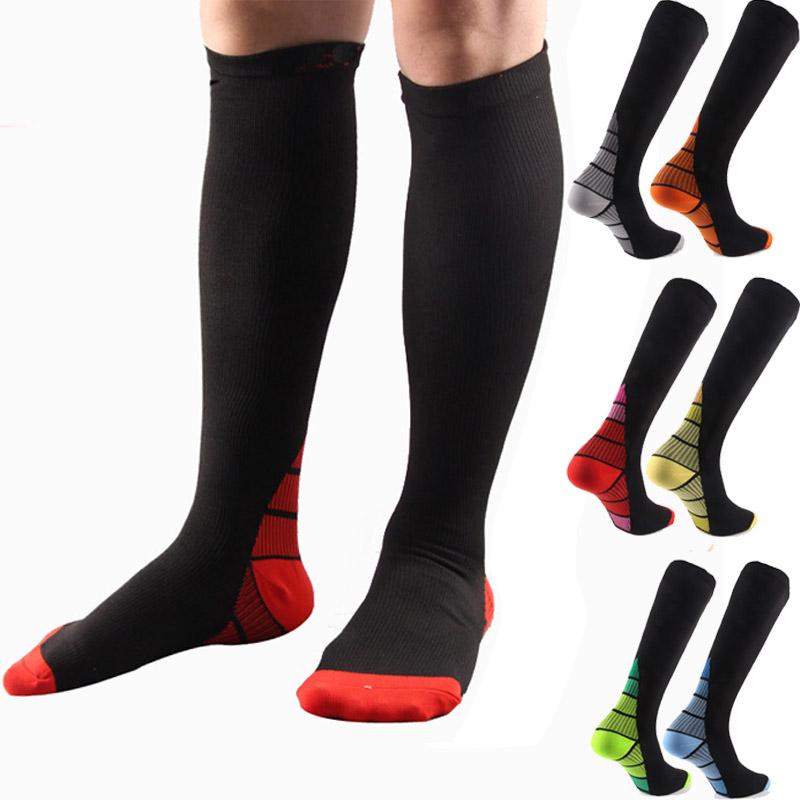 Compression Chaussettes Pour Femmes /& Hommes 20-30 mmHg-Meilleure Circulation Chaussettes pour infirmières