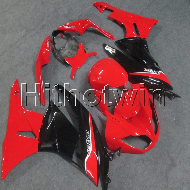 Green Black Fairing Bodywork Injection for Kawasaki Ninja ZX6R ZX600R 2009-2012