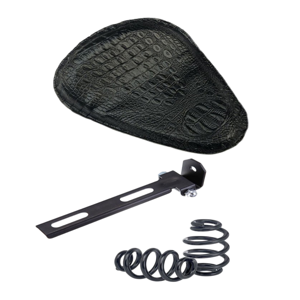 Solo Driver Seat Cushion Pad Saddle Springs Black Bracket Mount for Halley