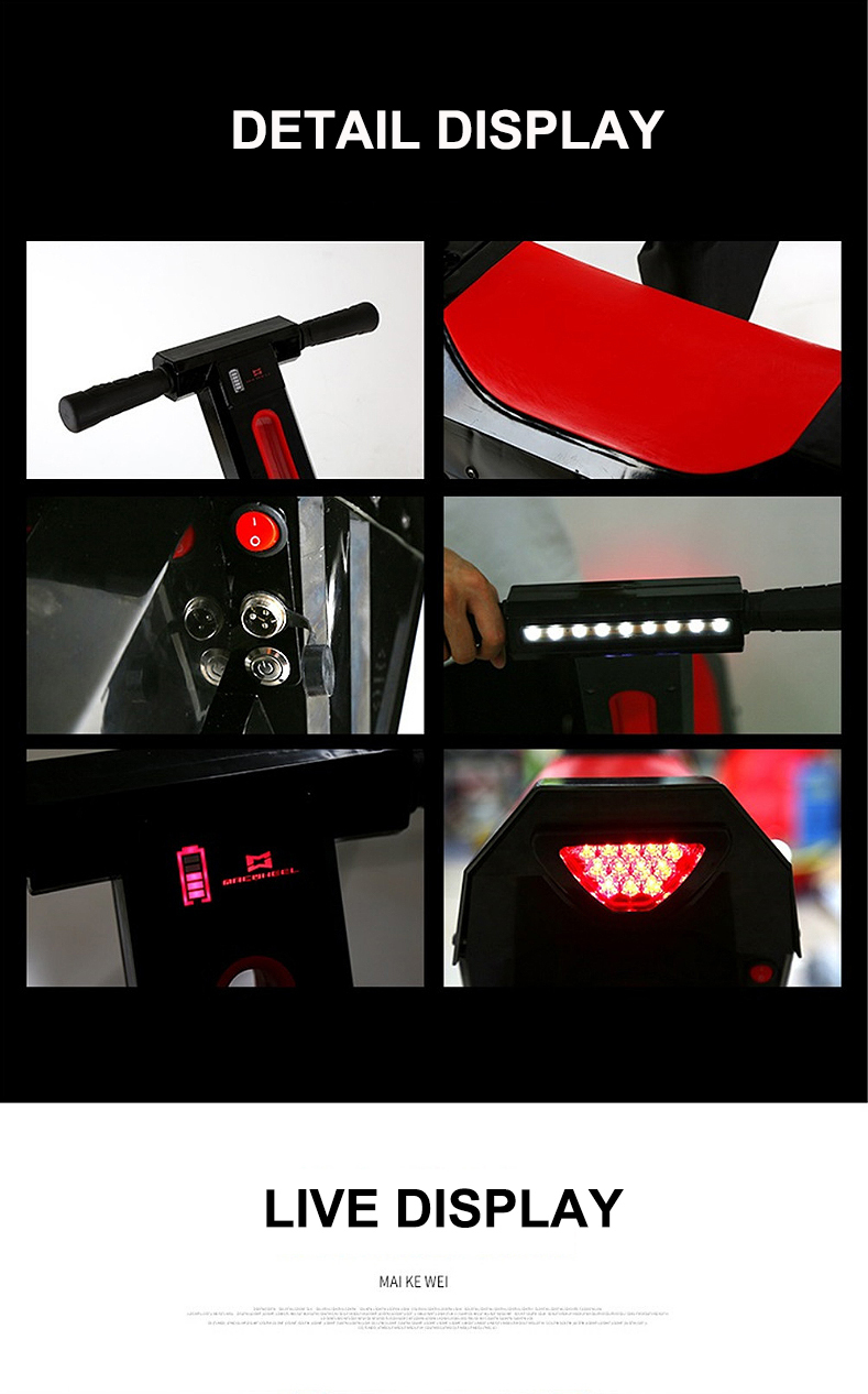 New Electric Unicycle Scooter 500W motorcycle hoverboard one wheel scooter skateboard monowheel Electric Bicycle big wheel (5)
