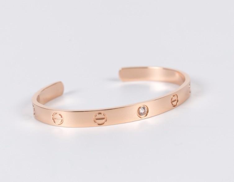 Titane Acier Bracelets D'amour Argent Rose Or Bracelets Femmes Hommes Tournevis Tournevis Bracelet Couple Bijoux Ensemble