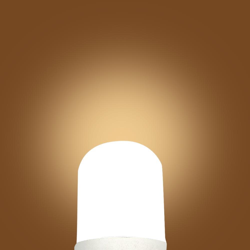 BRELONG LED 6W plastic aluminum cylindrical bulb for home, kitchen, night light, white / warm white / E27 / E14