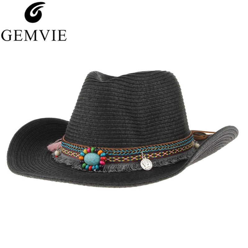 Fashion Trend Cowboy hat Jazz hat Summer Casual Breathable Men Women Soft Summer mesh Cap Vintage