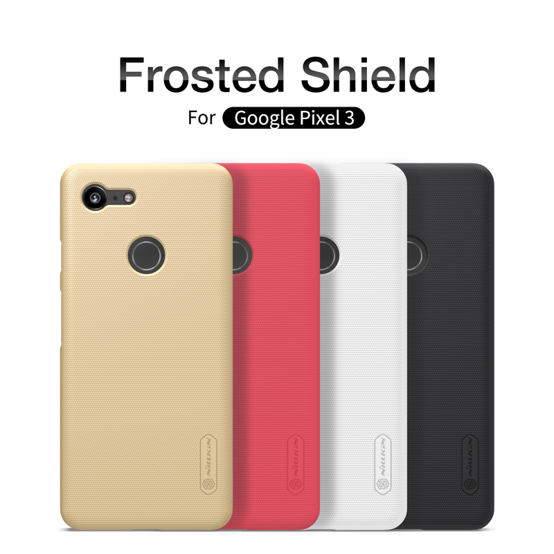 wholesale for Google Pixel 3 XL Pixel3 Casing Nillkin Frosted Series Luxury PC Hard Back Cover sFor Google Pixel 3 Case