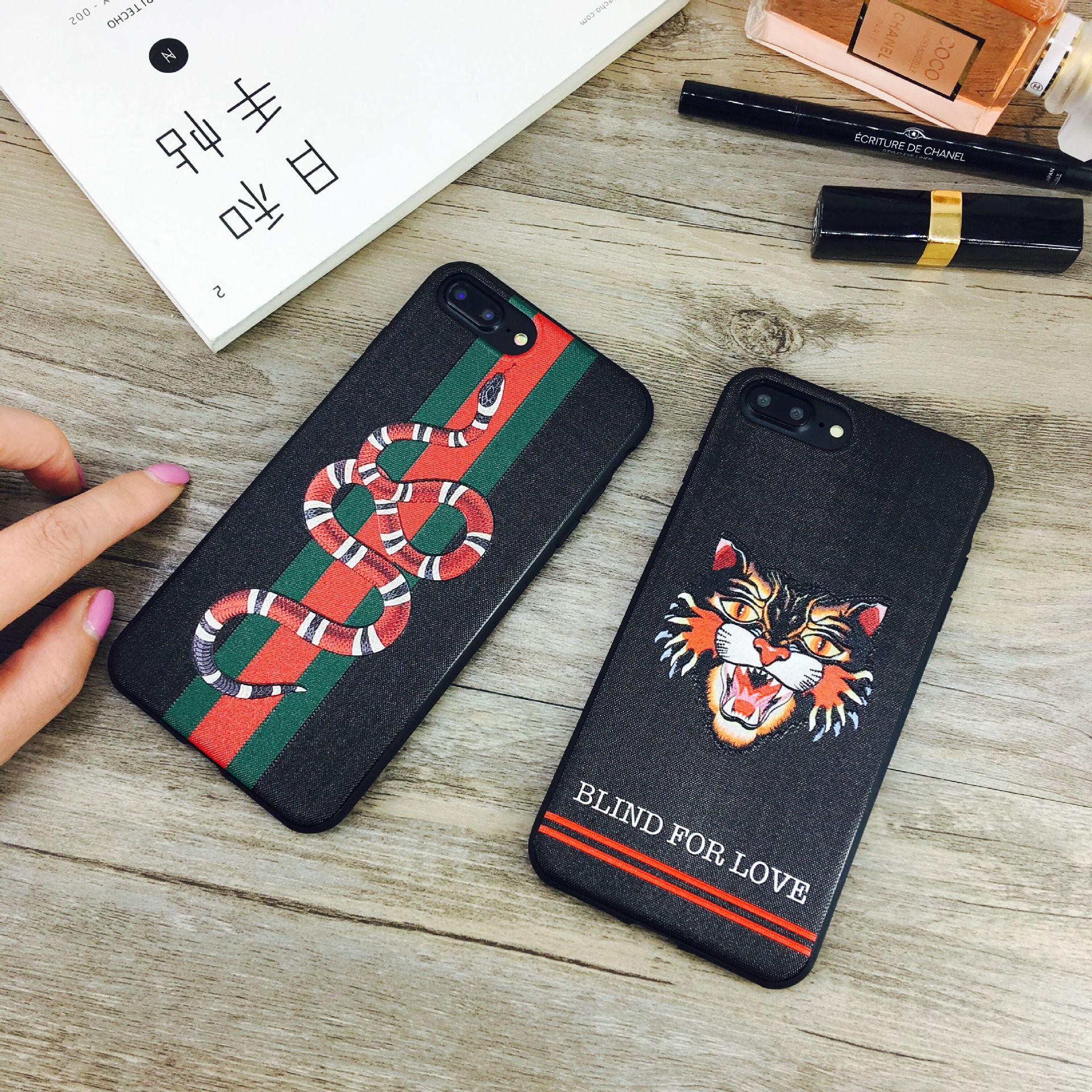 Горячий дизайнерский чехол для телефона для IPhone X 6 / 6S 6plus / 6S Plus 7/8 7plus / 8plus Роскошный чехол Задняя крышка Бренд Защитный чехол для телефона