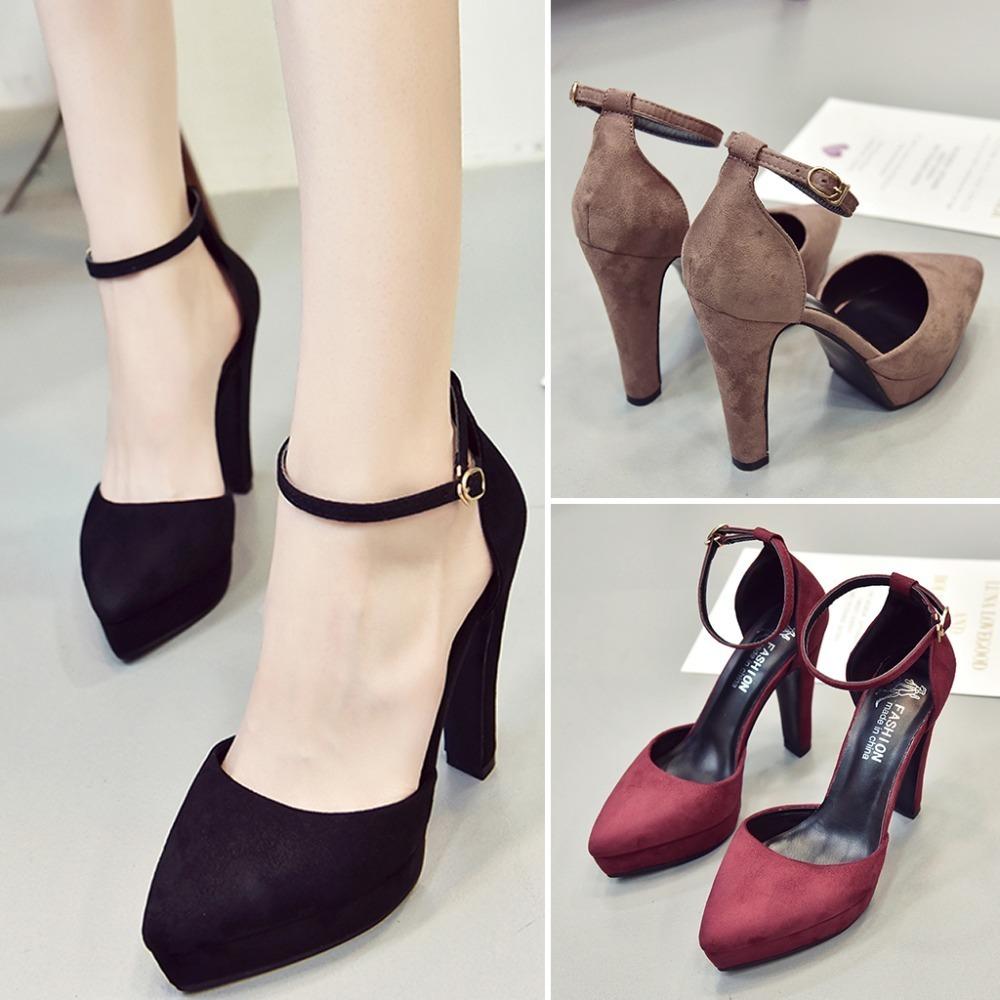 Marca Altos Compre Vestir Correa Tacones Mujer De Zapatos Y6wYp