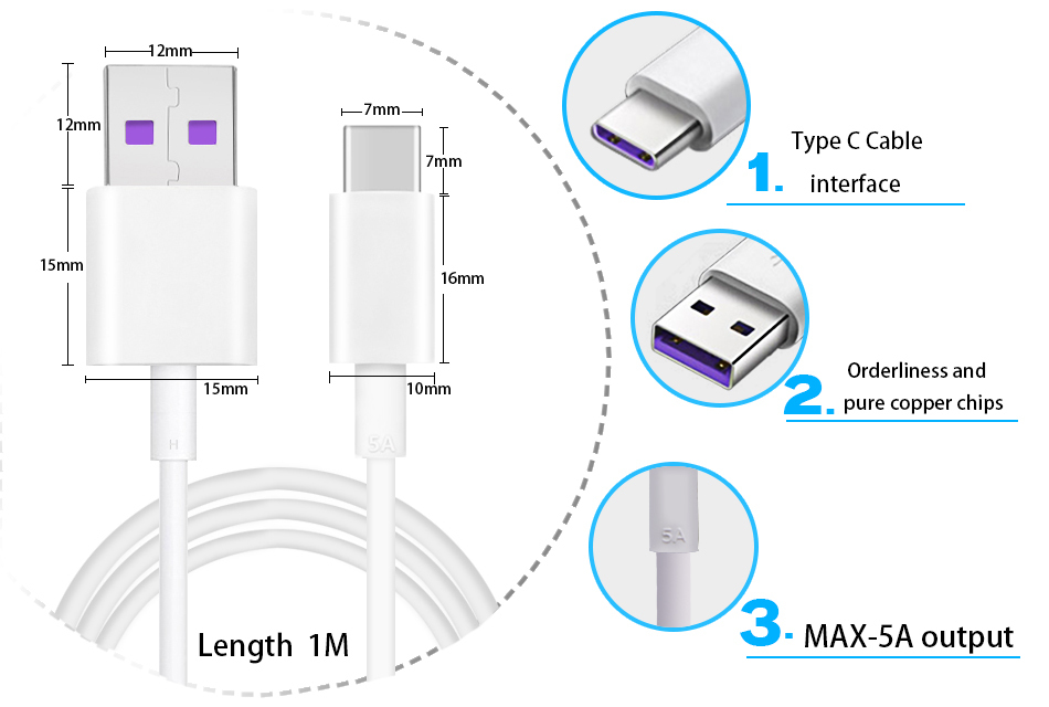 huawei charger cable