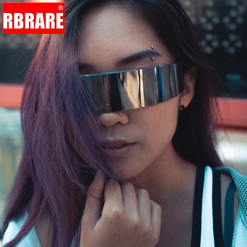 Mask Sunglasses Novelty Costume Futuristic Wrap Around Monob Glasses Cyclop Sun