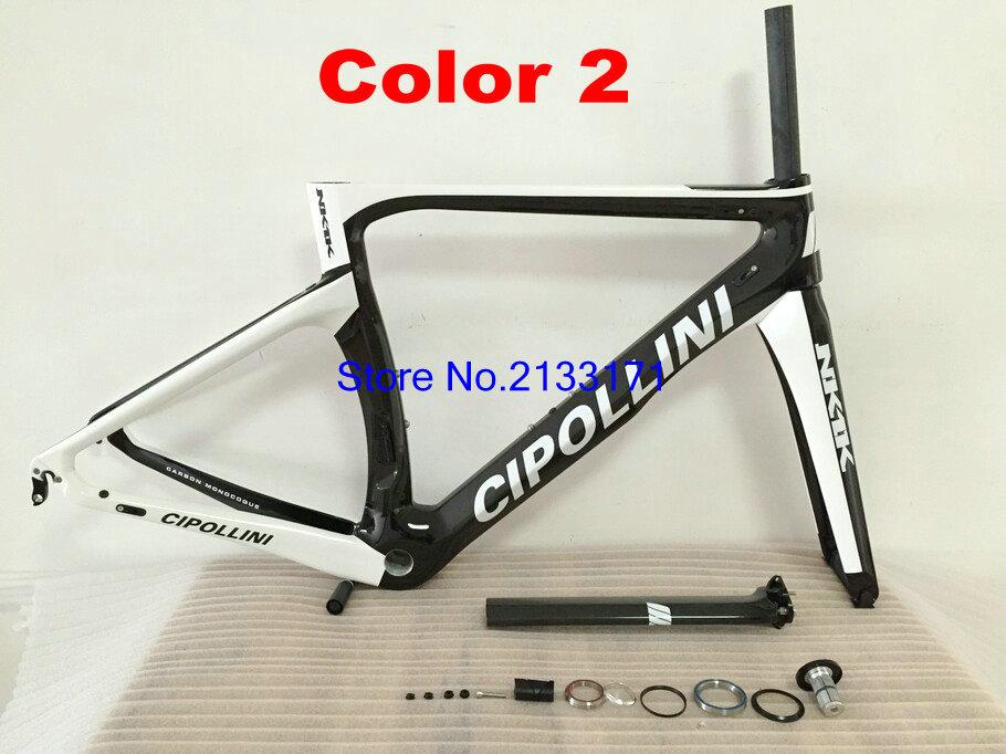 2 Cipollini NK1K 3K Di2 Carbon Bike Frame