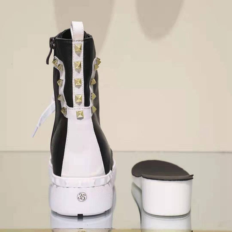 Хорошие 2019 Новая мода женщины сапоги сгущаться Донные сапоги Оригинальный дизайн и отличное качество снежка зимы ботинки с Риве