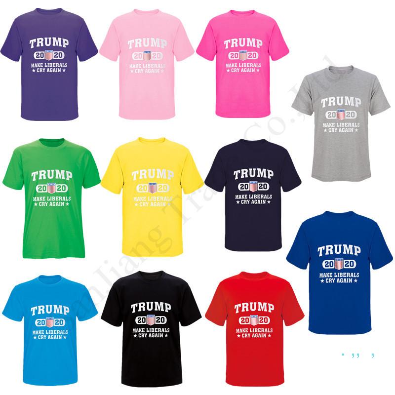Uomini 3D Stampa Team Trump 2020 rendere di nuovo l/'America GRANDE unisxe T-shirt tees