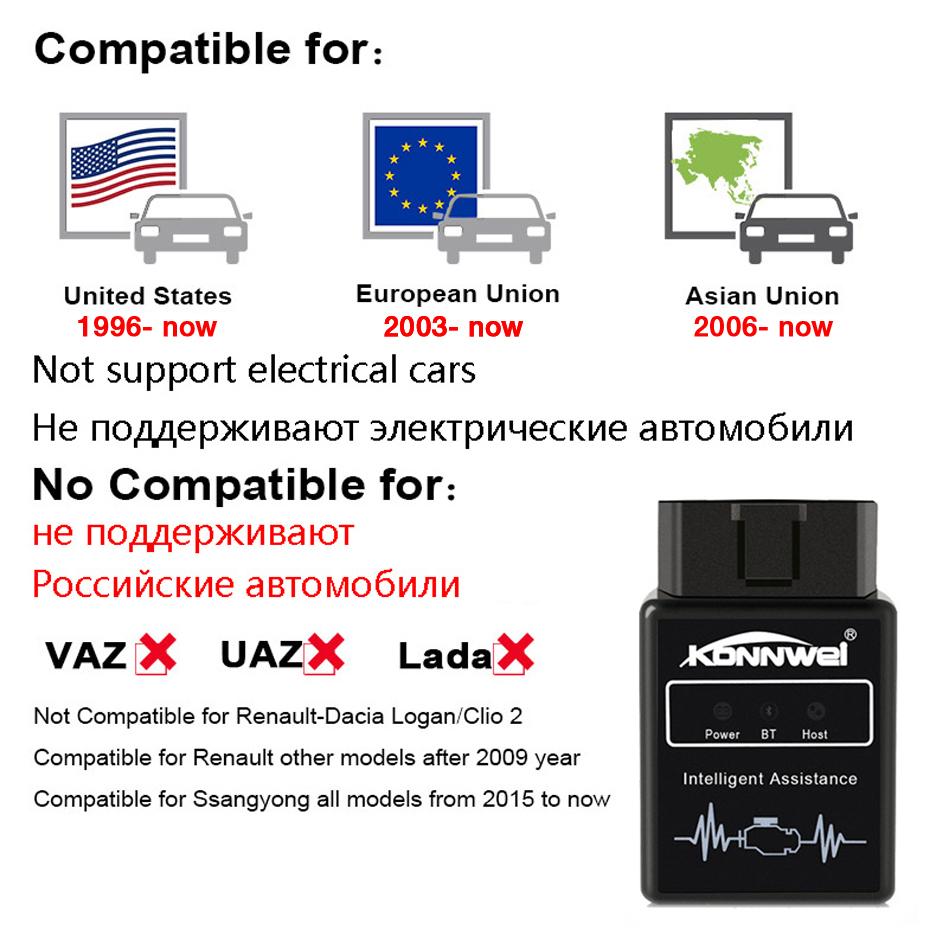 ELM327 Bluetooth Pic18f25k80 Obd2 v1.5 Scanner 4