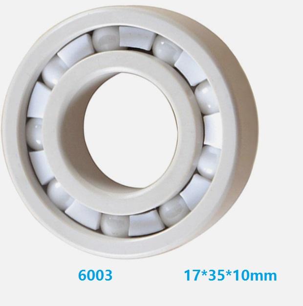 6205 Full Ceramic Bearing ZrO2 Ball Bearing 25x52x15mm Zirconia Oxide