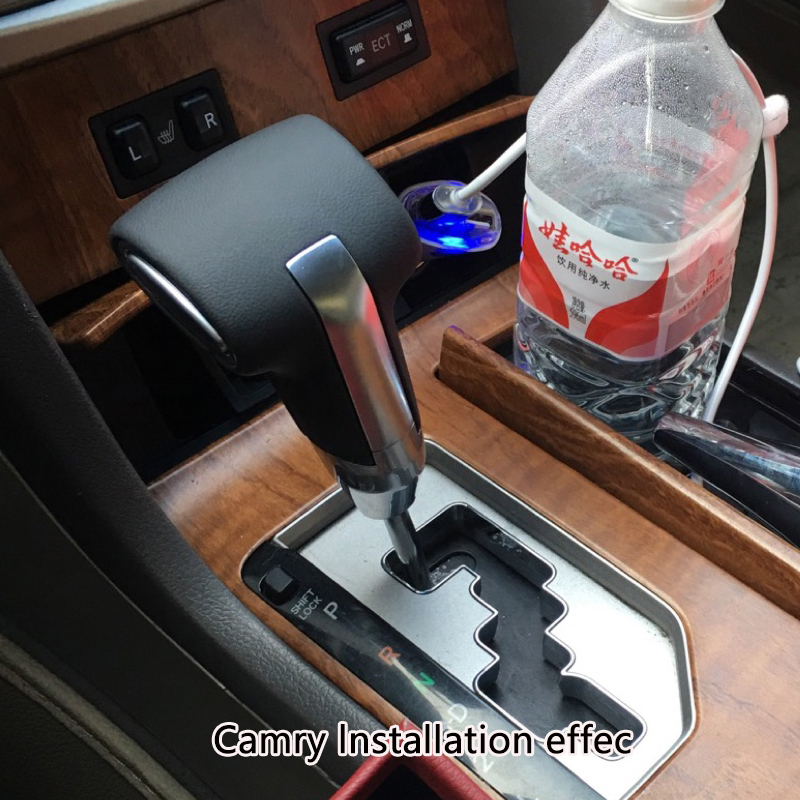 KSTE 5 Velocidad Palanca de Engranaje del Cambio de palillo Perilla for Corolla Verso Yaris AYGO Avensis 1992-2009 de Coches