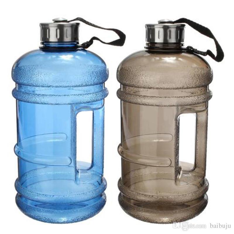 Vert Demi Gallon Bouteille d/'eau en plastique réutilisable Potable Conteneur cantine pot