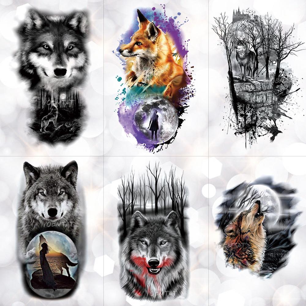 Superiore лучшие татуировки волка