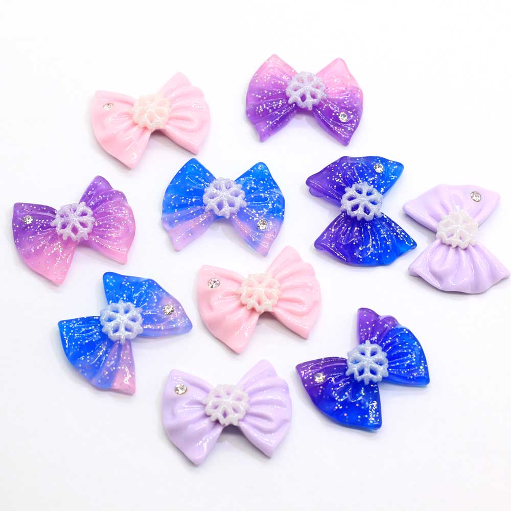 Kawaii Wooden Buttons Baby Painted No Holes Handmade DIY Blue Pink Accessories