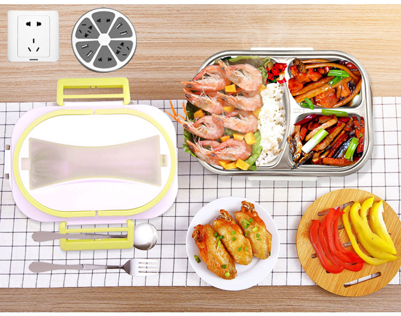 Electric lunch box stainless steel lunch box21