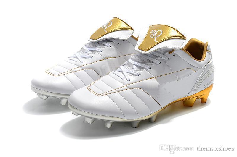 Heiße Herren Tiempo Legend VII 7 R10 Elite FG Ronaldo de Assis Moreira Niedriger Knöchel Fußballschuhe Fußballschuhe Stollen US 6,5-11