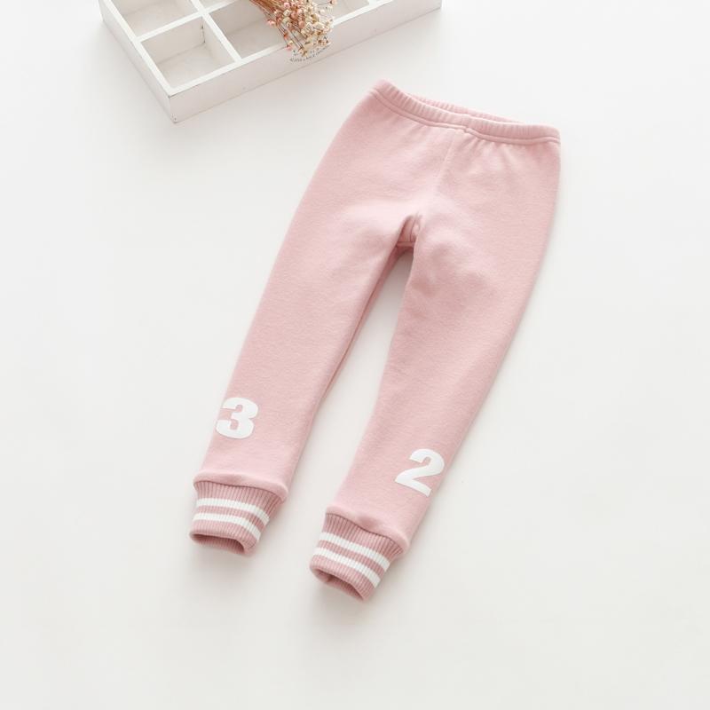 BibiCola Neue Mode Mädchen Warme Hosen Winter Kinder Verdicken Outwear Hosen Baumwolle Fleece Hosen Baby Casual kleidung
