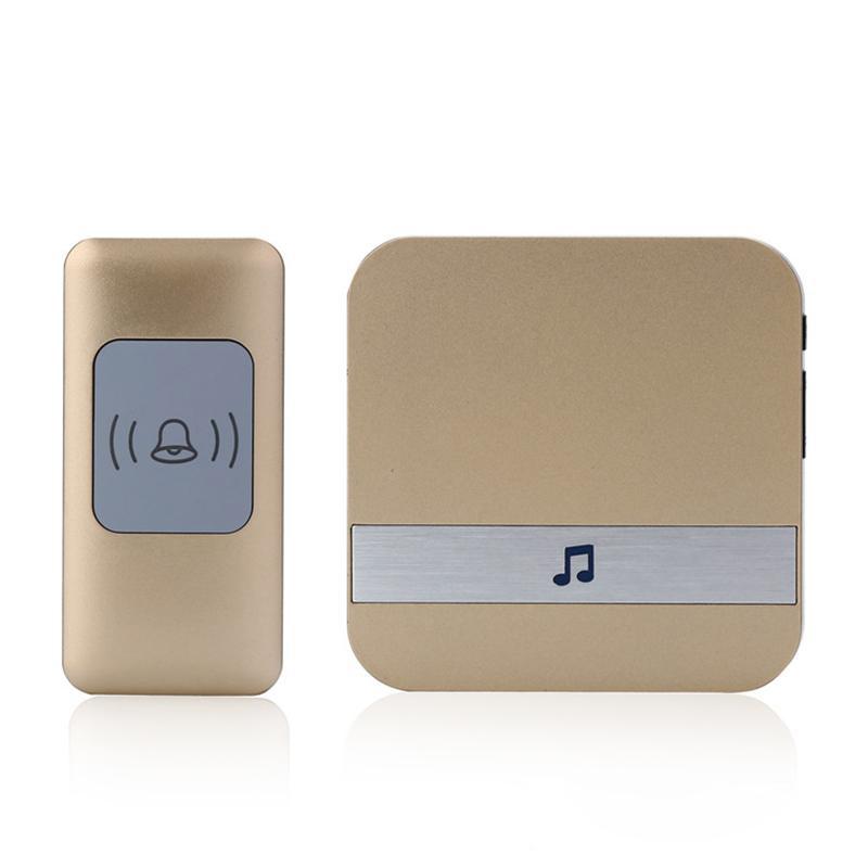 Range Twin Plug In Wireless Cordless Digital Chime Door Bell 38 Melodies 150M FY