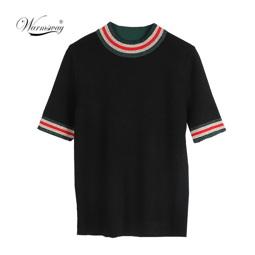 Hit Color Tees For Women Basic Viscose T-Shirt Casual O-Neck Tee Shirt Femme Summer Tops Short Sleeve T-Shirts B-064
