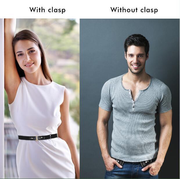 Bonjean Buckle-free Jean Pants,dresses,no Buckle Stretch Elastic For Women/men,no Bulge,no Hassle Waist Belt C19041501