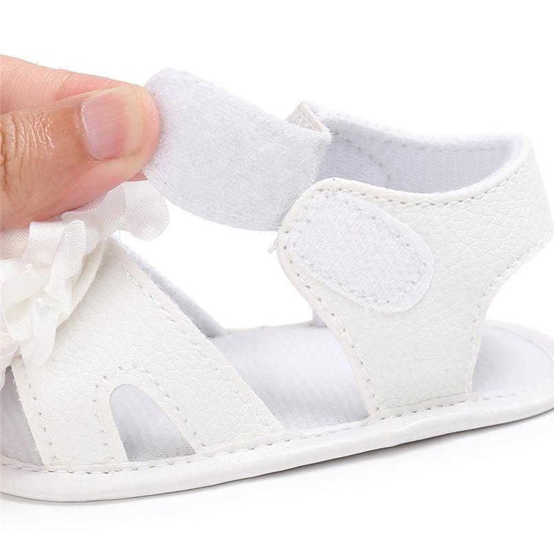 Summer Girls Sandals Toddler Newborn Baby Girl Crib Shoes Flower Soft Sole Anti-slip Sandals NDA84L24 (13)