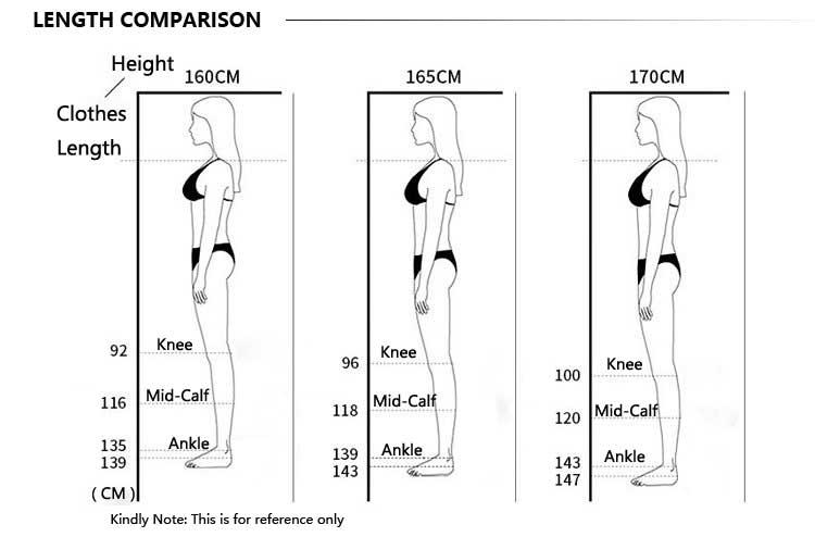 height length