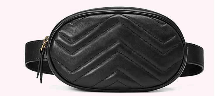2018 New Luxury Handbags Women Bags Designer Waist Bag Fanny Packs Lady's Belt Bags Women's Famous Brand Chest Handbag