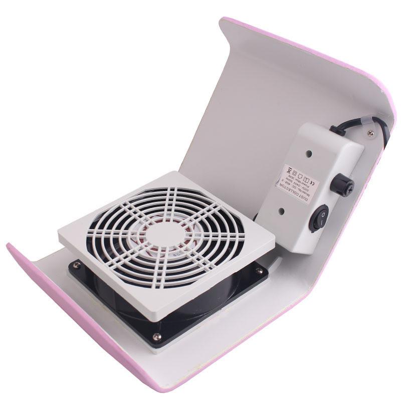Rakado 1 STÜCK Nail art Staubreiniger Gel Nagellack UV Werkzeug Vakuum Maniküre Set Maschine Kit Für Neue Nagel Staubsammler Rosa Schönheit