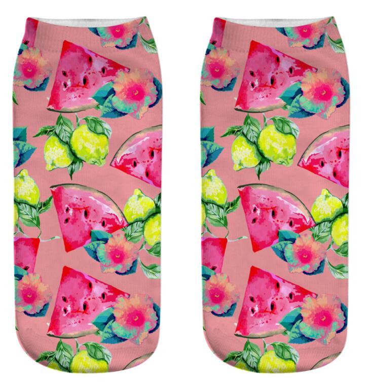 Custom Pineapple Banana Watermelon Mango Avocado Fashion Mens Swimming Trunks Short,