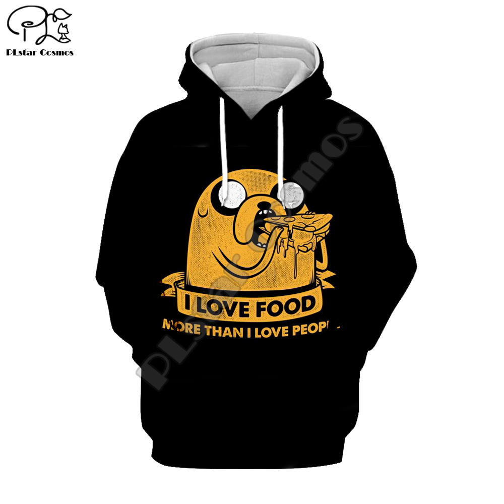 Adventures Clipart Fox Mens Long-Sleeve Pullover Hoodie