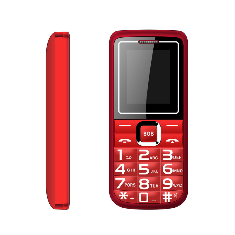 A100 Directly Plate Function Man Mobile Phone 1.77 Hd Screen The Elderly Mobile Phone Key Mobile Phone Nonno