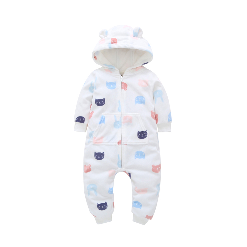 6-24M baby jumpsuit Overalls ropa bebes new born baby clothes cartoon long sleeve romper autumn winter baby girl boy clothes